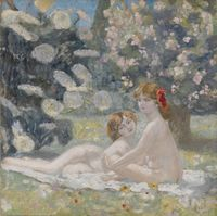 MARVAL Jaqueline (1866 – 1932) « Les Cigales » Don: VOLLARD Lucien