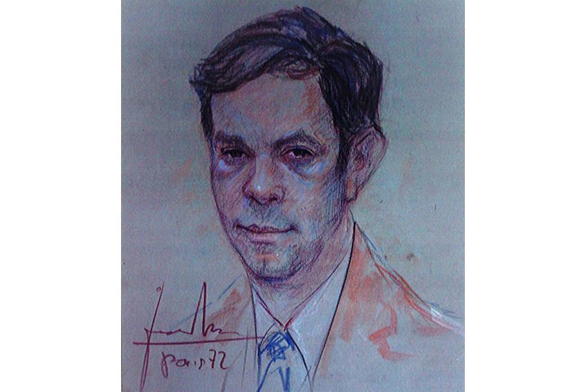 Portrait de Louis JESSU en dessin
