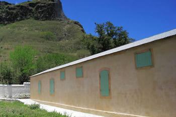 le bâtiment du Lazaret