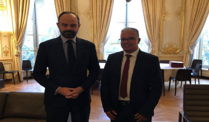 Edouard Philippe et Cyrille Melchior