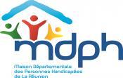 Logo - MDPH Réunion Maison des Personnes Handicapées
