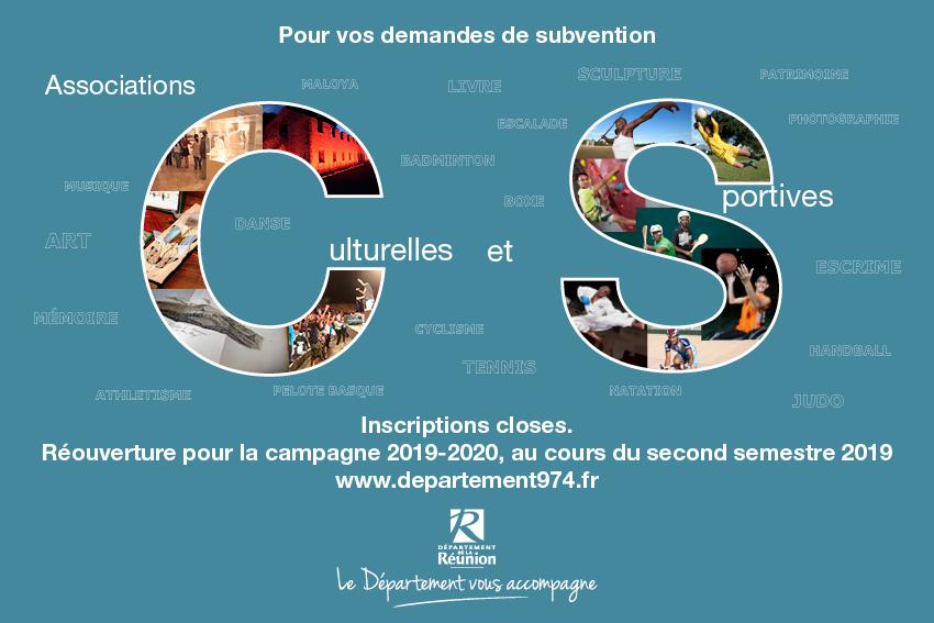 Associations Culturelles Et Sportives Demande De Subvention En
