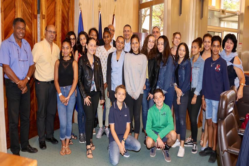 Les intervenants et les conseillers départementaux jeunes