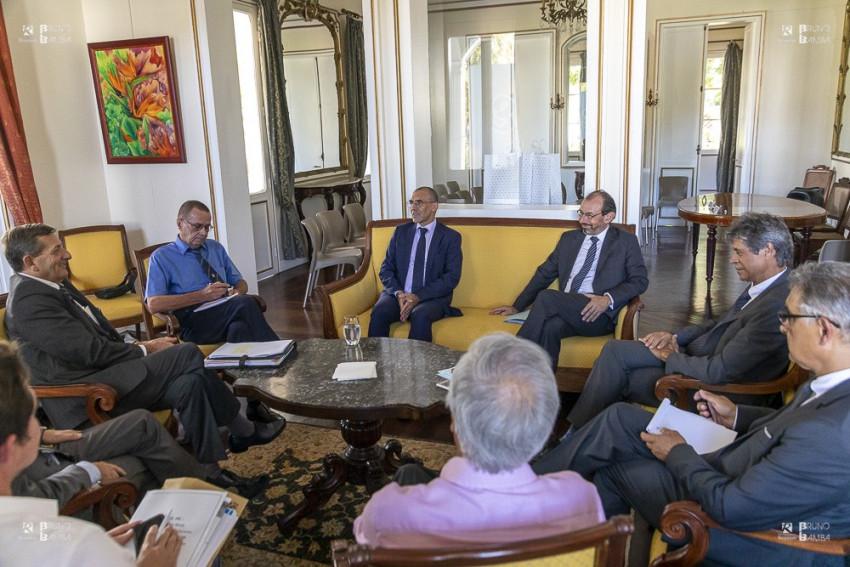 Christophe Bouchard, Ambassadeur de France à Madagascar et Dominique MAS Ambassadeur de France aux Seychelles