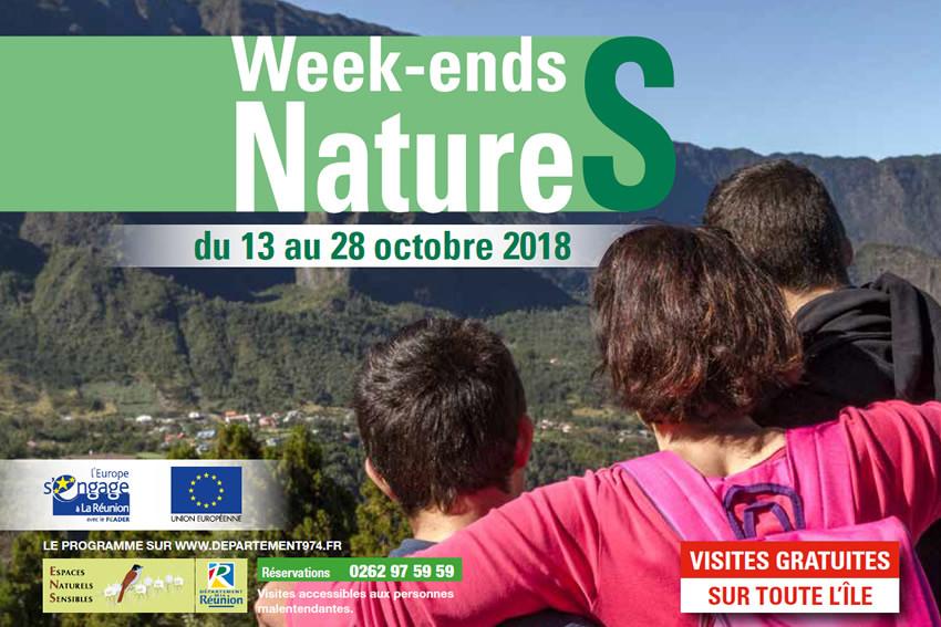 Agenda Week Ends Natures Du 13 Au 28 Octobre 2018 Le